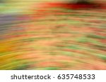Abstract Motion Blur Colorful...