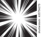 background of radial lines for... | Shutterstock .eps vector #635756273