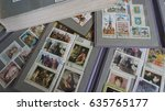 stamp collecting. philatelic.... | Shutterstock . vector #635765177