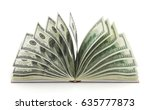 finance concept. book with...   Shutterstock . vector #635777873