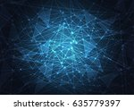 internet connection  abstract... | Shutterstock .eps vector #635779397