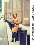 American Businesswoman With Re...