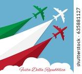 translation  republic day.... | Shutterstock .eps vector #635881127