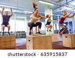 fitness  sport  training and... | Shutterstock . vector #635915837