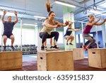 fitness  sport  training and... | Shutterstock . vector #635915837