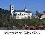 Castle Rozmberk In South Of...