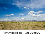 organ mountains in las cruces ... | Shutterstock . vector #635988503