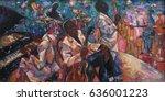 night club  jazz club  texture  ... | Shutterstock . vector #636001223