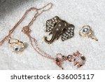 beautiful luxury shine... | Shutterstock . vector #636005117