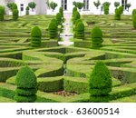 French Formal Garden In Chatea...