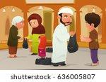 a vector illustration of... | Shutterstock .eps vector #636005807
