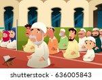 a vector illustration of... | Shutterstock .eps vector #636005843
