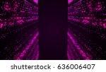 falling dust loopable... | Shutterstock . vector #636006407
