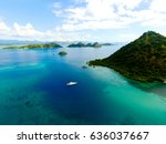 Aerial View From Flores Island...