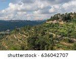 ein karem mountain   Shutterstock . vector #636042707