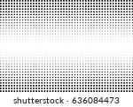 abstract halftone dotted... | Shutterstock .eps vector #636084473