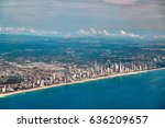 aerial and panoramic view of... | Shutterstock . vector #636209657