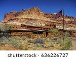 capitol reef national park... | Shutterstock . vector #636226727
