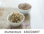 bowl of sprouted green moong or ...   Shutterstock . vector #636226847