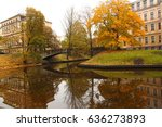 in the park | Shutterstock . vector #636273893