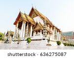 Thai Buddhist Temple Bangkok...