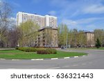moscow  russia   may  2017 ... | Shutterstock . vector #636321443