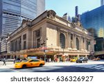 new york city   april 14 ... | Shutterstock . vector #636326927