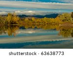 Fall In Colorado - stock photo