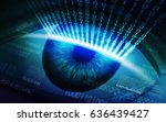 the scanning system of the... | Shutterstock . vector #636439427