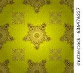 universal vector pattern for... | Shutterstock .eps vector #636476327