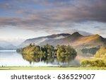 Lake Derwentwater at Keswick ,Lake District , England