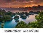 Indonesia Superb Sunset In Papua