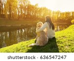 Young Woman And Golden...