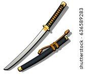 Samurai Sword Tanto With...