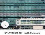 october 24  2016   new york  ... | Shutterstock . vector #636606137