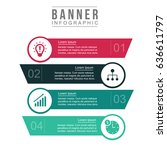 business infographic elements | Shutterstock .eps vector #636611797