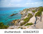 the most eastern point of... | Shutterstock . vector #636626923