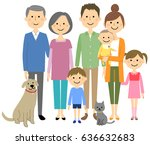 the good family | Shutterstock .eps vector #636632683