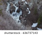 View Of A Small Waterfall From...