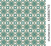 islamic pattern | Shutterstock .eps vector #636806743