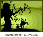 abstract spooky background for... | Shutterstock . vector #63693286