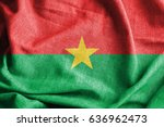 burkina faso cotton flag | Shutterstock . vector #636962473