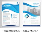 template vector design for... | Shutterstock .eps vector #636975397
