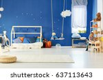 functional child room with...