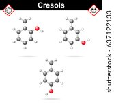 cresol isomers   ortho  meta...