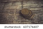 Old Brass Penny Coins