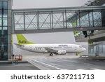 december 21  2016   airbaltic... | Shutterstock . vector #637211713