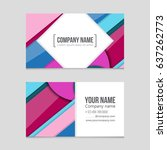 abstract vector layout... | Shutterstock .eps vector #637262773