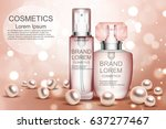 cream. realistic. cosmetics.... | Shutterstock .eps vector #637277467