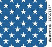 seamless abstract stars pattern.   Shutterstock .eps vector #637375597